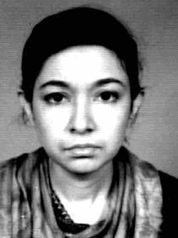FBI file photo of Aafia Saddiqui