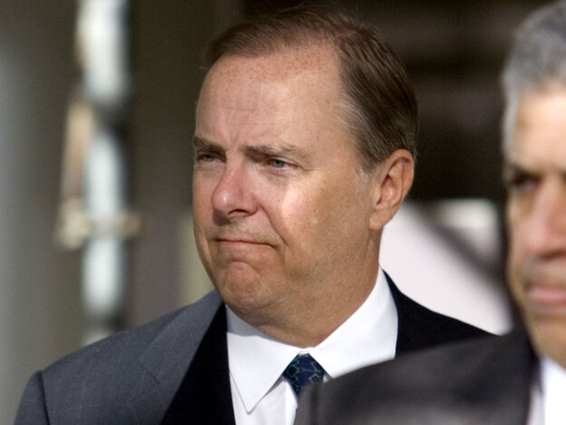 Former Enron CEO Jeff Skilling, seen here in 2006, contends he did not receive a fair trial in Houston. Skilling was convicted in 2006 of 19 counts of fraud, conspiracy, insider trading and lying to auditors.