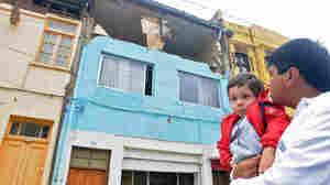 Damage in Valparaiso, Chile