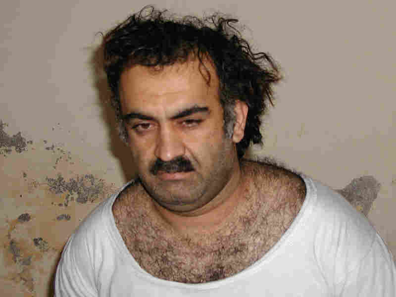 Khalid Sheikh Mohammed shortly after his capture