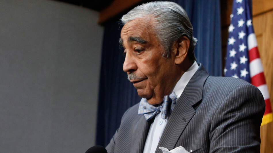 House Ways and Means Committee Chairman Charles Rangel (D-NY) announces he's stepping down as chairman while ethics investigations continue.