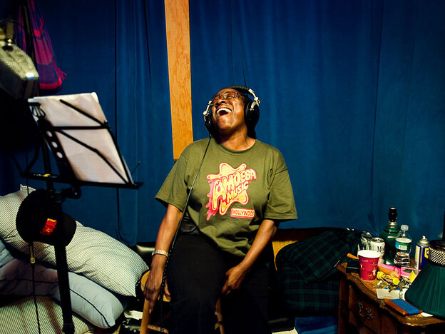 [Interactive:Photo Gallery: In The Recording Studio With Sharon Jones And The Dap-Kings]