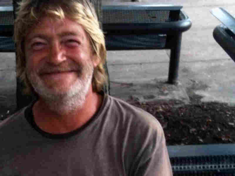 Brian, a 54-year-old homeless man from Des Moines, Iowa.