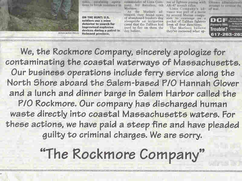 Ad placed by The Rockmore Company
