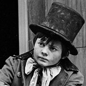 Jack Wild, left, and Mark Lester played the Artful Dodger and Oliver Twist in Oliver!