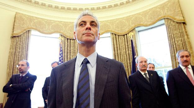 White House Chief of Staff Rahm Emanuel. Gerald Herbert/AP