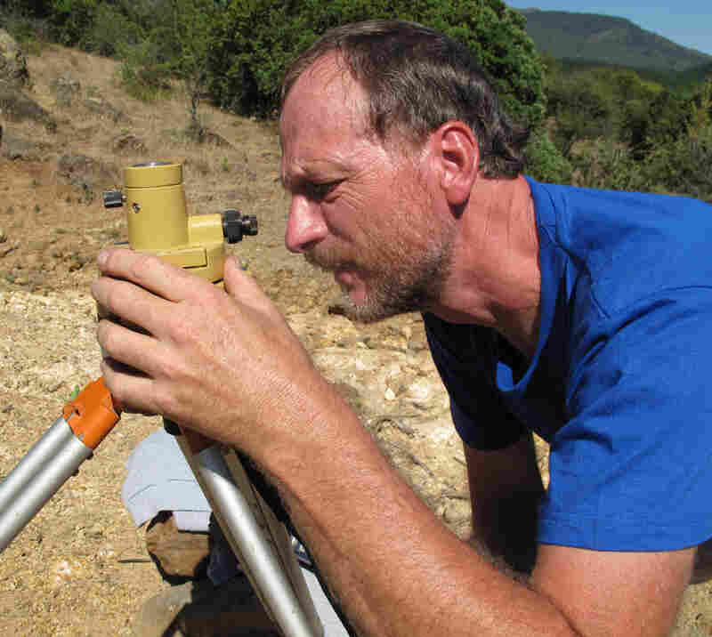 Jeff Genrich, an earthquake scientist from California