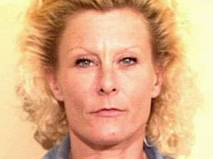 A booking mug shot of Colleen LaRose from 1997.