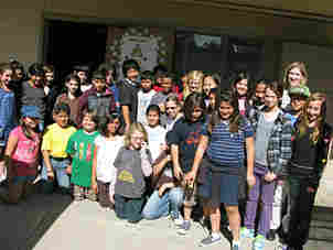 Fifth-graders at Balboa Magnet Elementary School in California sent letters of hope to Haiti.