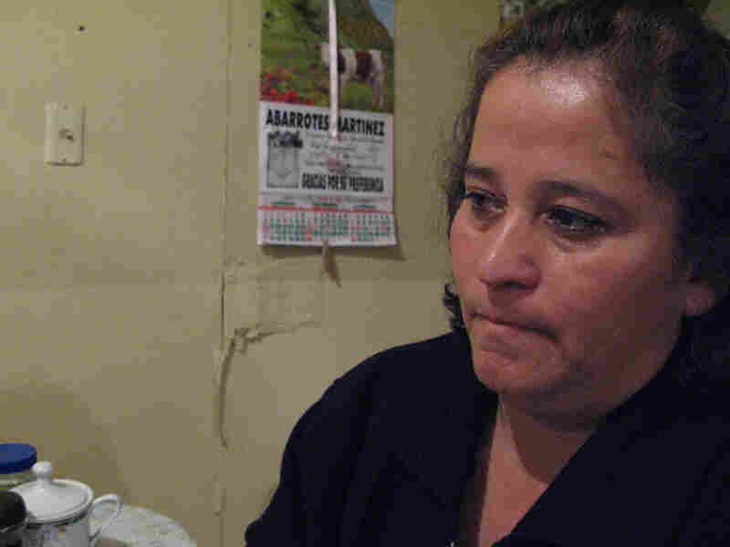Luz Maria Davila's two teenage sons were killed by gunmen at a birthday party
