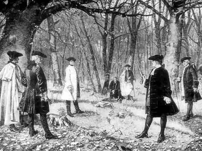 Aaron Burr killed Alexander Hamilton in a duel in 1804.