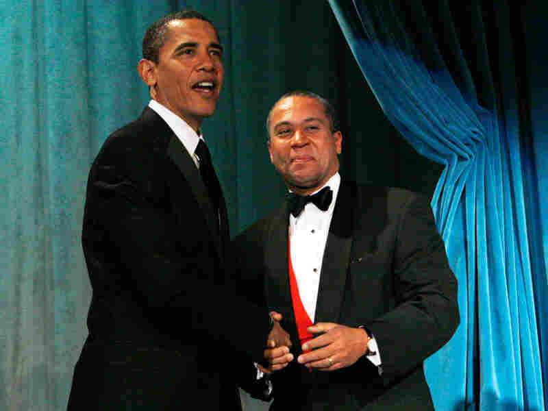 President Obama and Massachusetts Gov. Deval Patrick pictured above at a January 2009 dinner