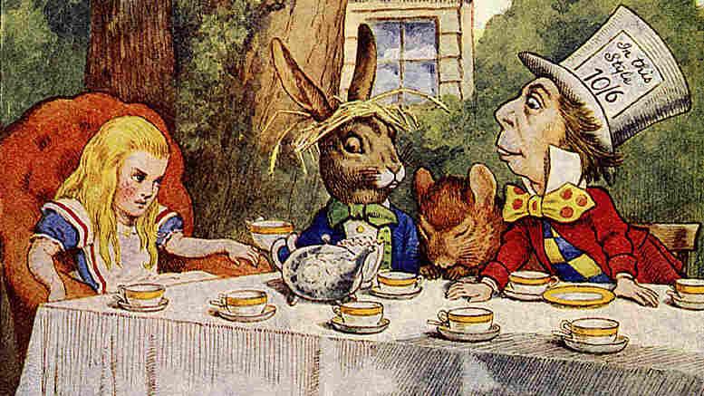 The Tea Party. John Tenniel/iStockphoto.com