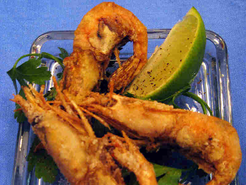 Fried Shrimp With Dipping Sauce