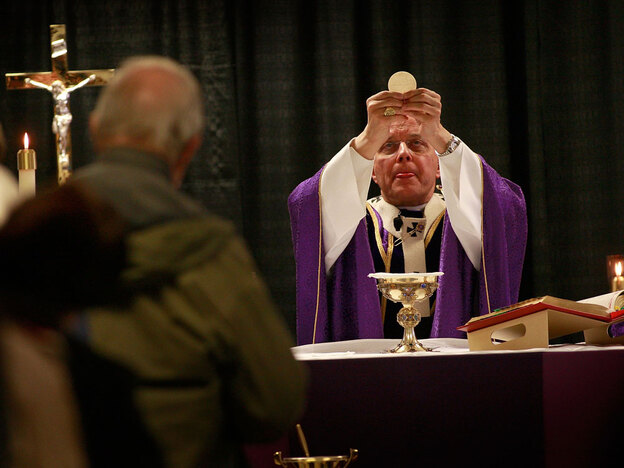 Chicago Cardinal Francis George is the president of the U.S. Conference of Catholics Bishops. The group says the health care bill could allow public funding of abortions. (Getty Images)