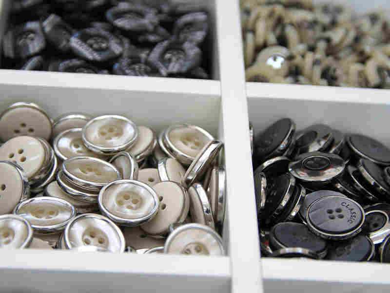 Buttons from Zhang's shop