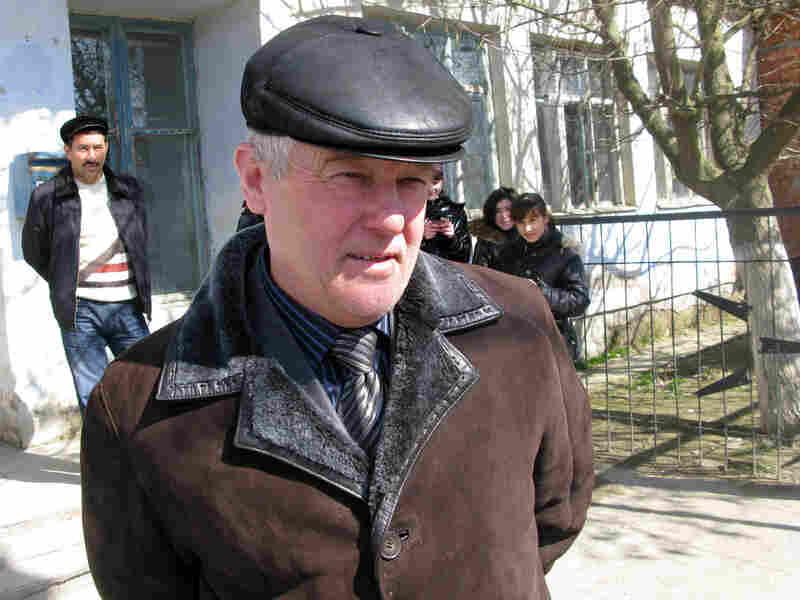 Abdulgamid Ashimov is the head of Sulak, Dagestan, Russia.