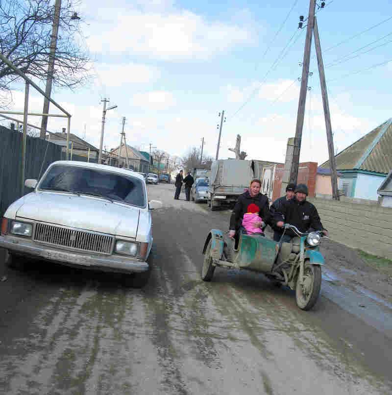 The village of Sulak in the Russian region of Dagestan.
