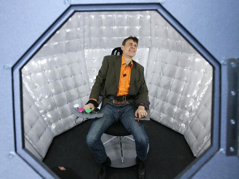 Fake TV Game Show 'Tortures' Man, Shocks France : NPR