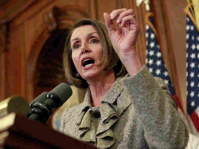 House Speaker Nancy Pelosi of California