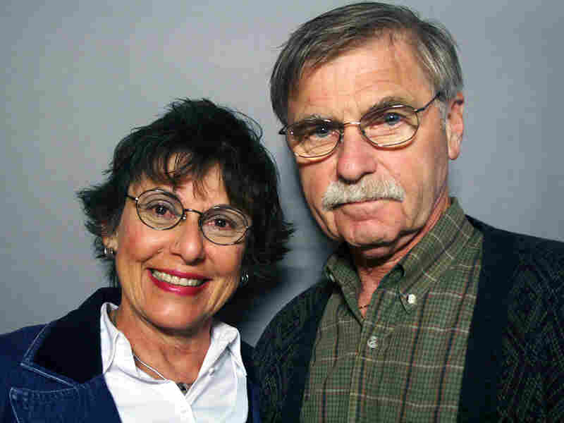 Graciela Kavulla visited StoryCorps with her husband, Timothy Kavulla.