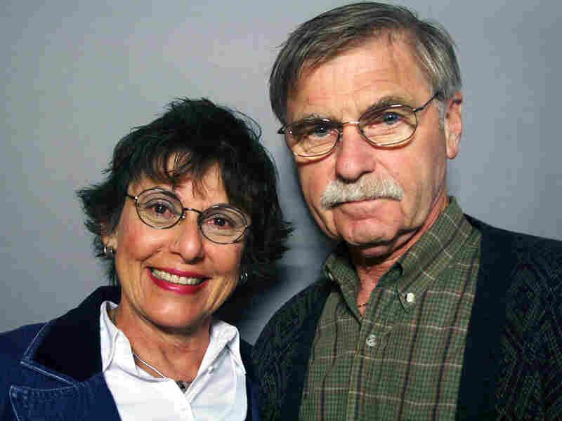 Graciela Kavulla visited StoryCorps with her husband, Timothy Kavulla.