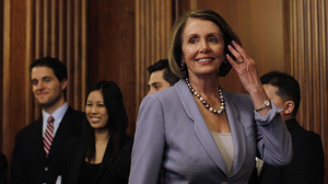 "Speaker of the House Nancy Pelosi quoted the late Sen. Ted Kennedy after the House passed the health care bills late Sunday. ""Passing health care is the great unfinished business of our country,"" she said. ""That is, until today."""