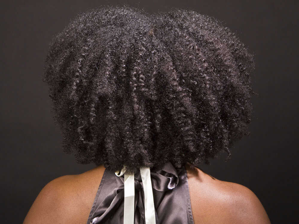 Woman's Afro