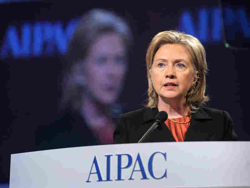 Secretary of State Hillary Clinton speaks at AIPAC conference Monday