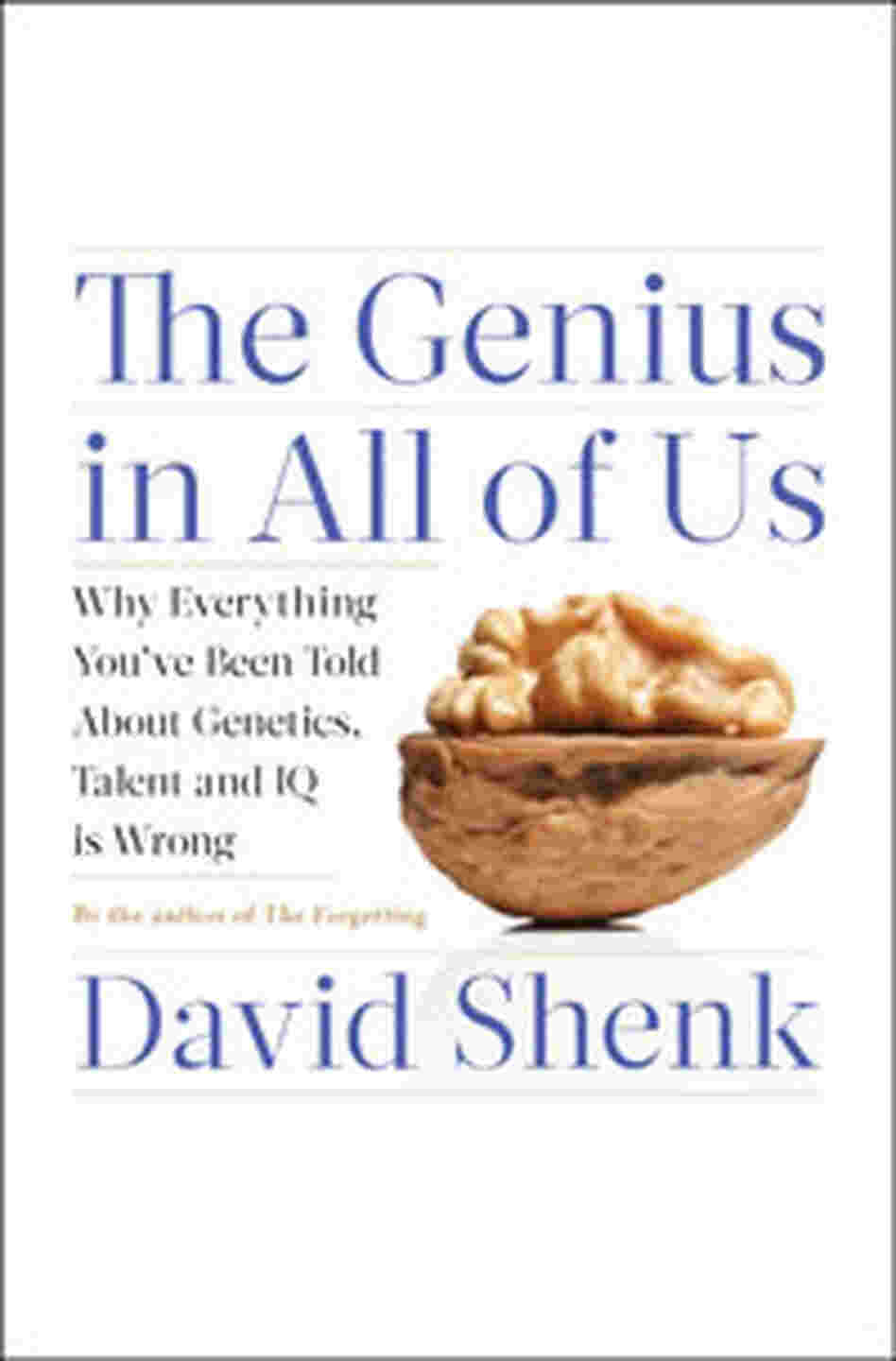 Cover of 'The Genius In All Of Us'