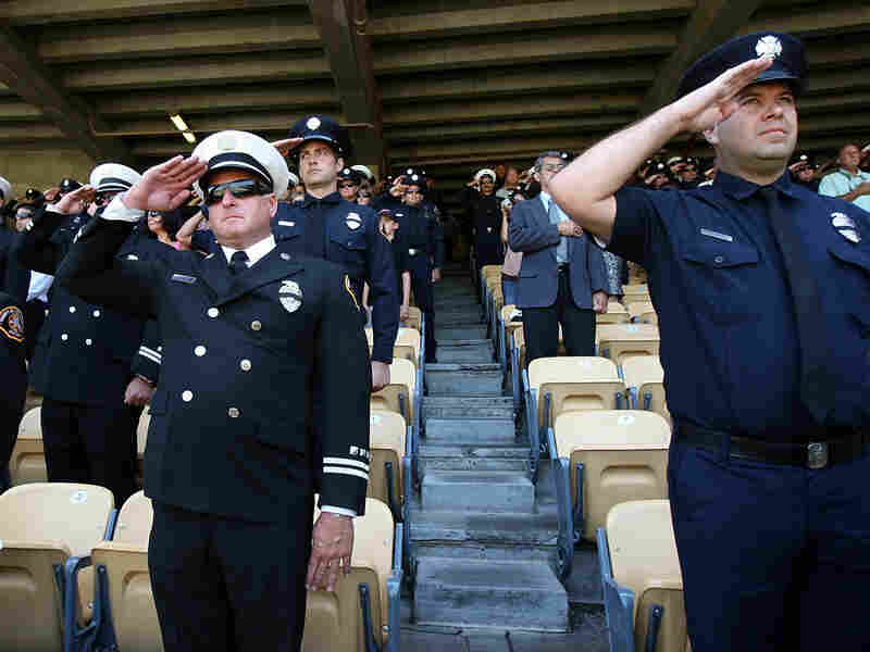 There are more than 1 million public employees in California, including firefighters.