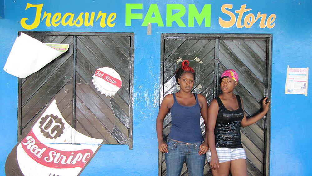 Jamaican fat ass