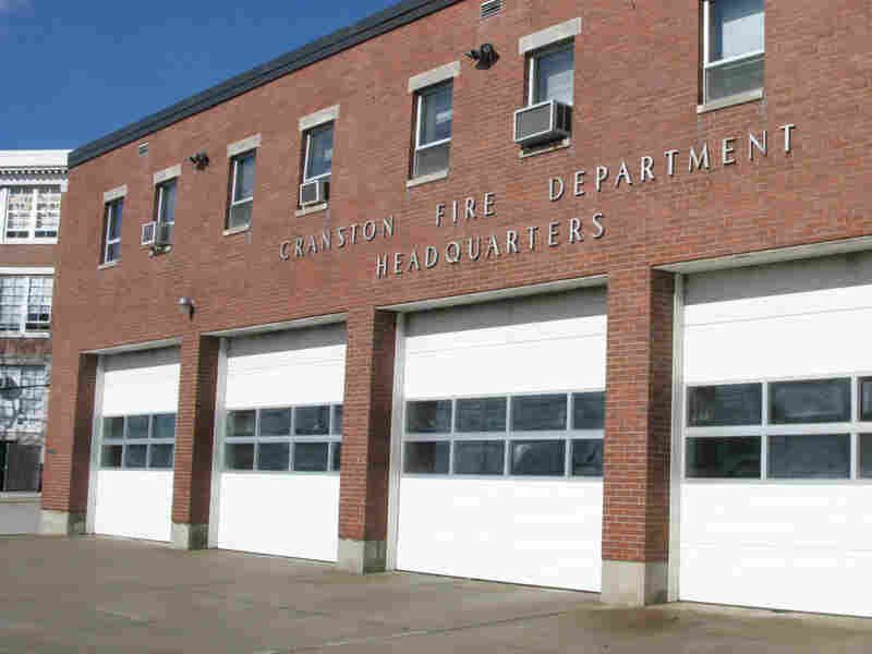 The Cranston fire department in Cranston, R.I.