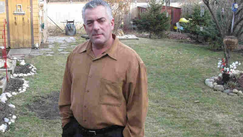 Retired firefighter John DeGenova frpm Cranston, R.I.