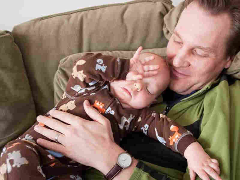 Michael J. Madsen and his son Jenson