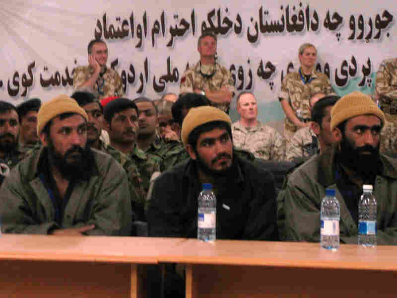 Former detainees of the notorious U.S.-run Bagram prison north of Kabul