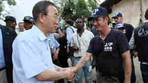 Sean Penn's Latest Role: Haiti Relief Worker