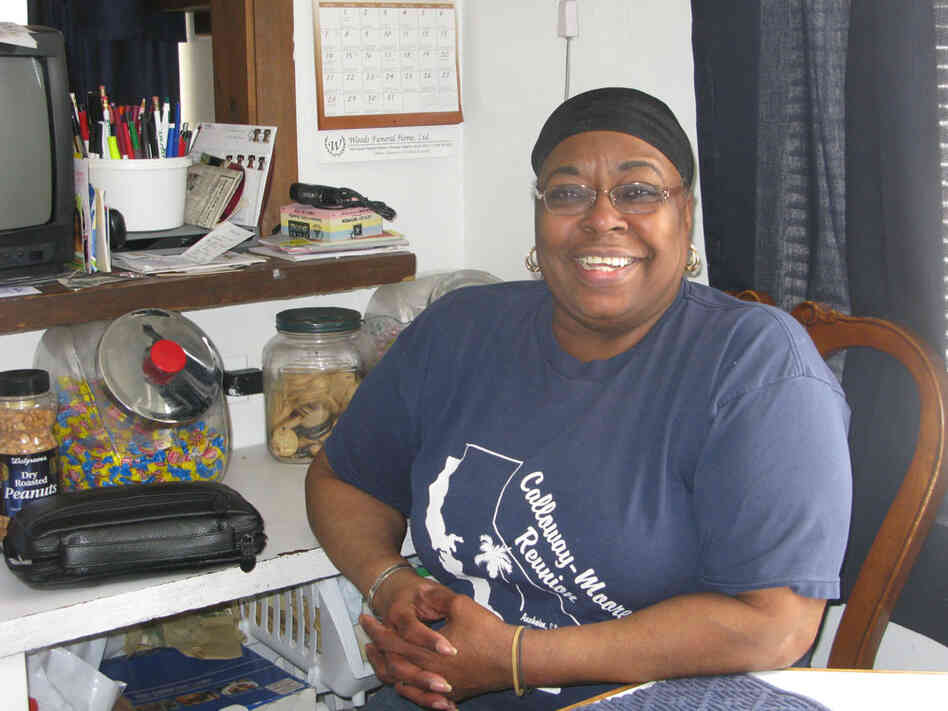 Ida Calloway relies on her state pension to make ends meet.