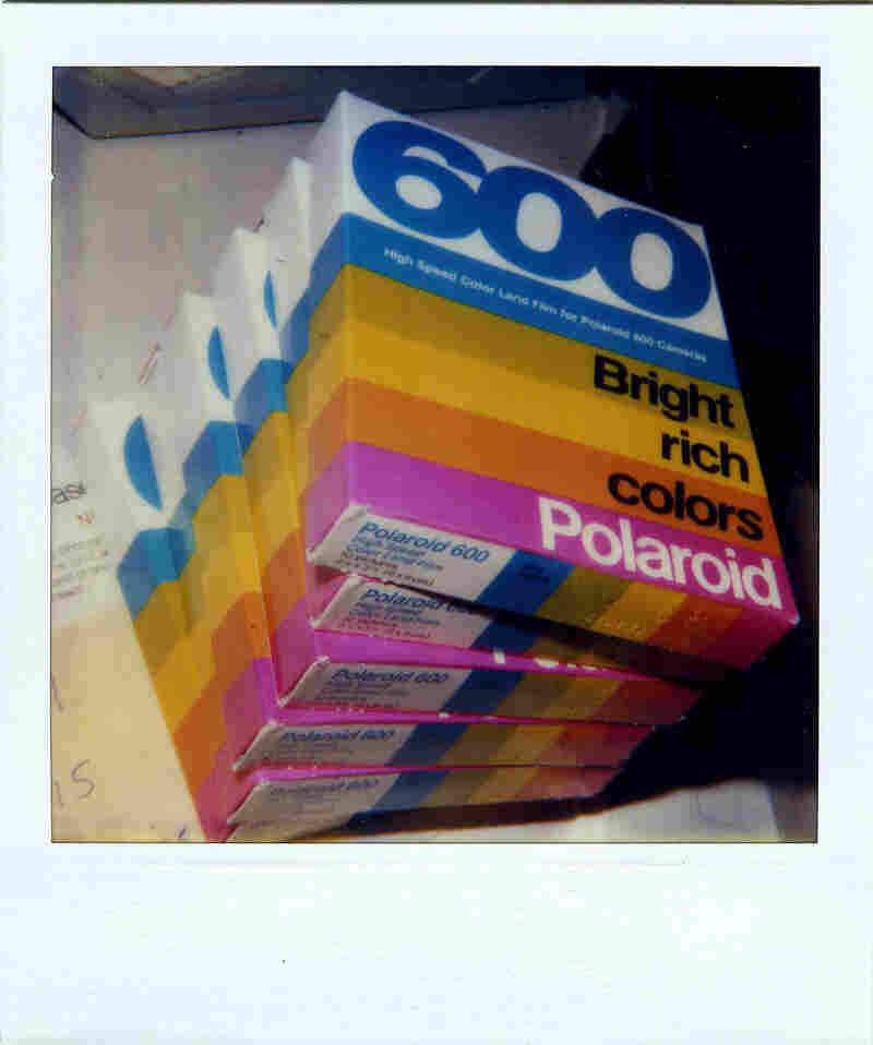 Polaroid stopped making instant film in 2008.