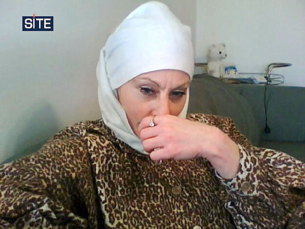 "American Colleen LaRose (shown in an undated image obtained from the SITE Intelligence Group) is accused of planning deadly attacks in Europe and South Asia and recruiting ""violent jihadist fighters"" to carry them out. Officials say LaRose, who called herself Jihad Jane, is among a recent wave of terrorism recruits drawn more by the adventure of holy war than by religion itself."