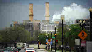 The newly renovated coal burning, U.S. Capitol Power Plant