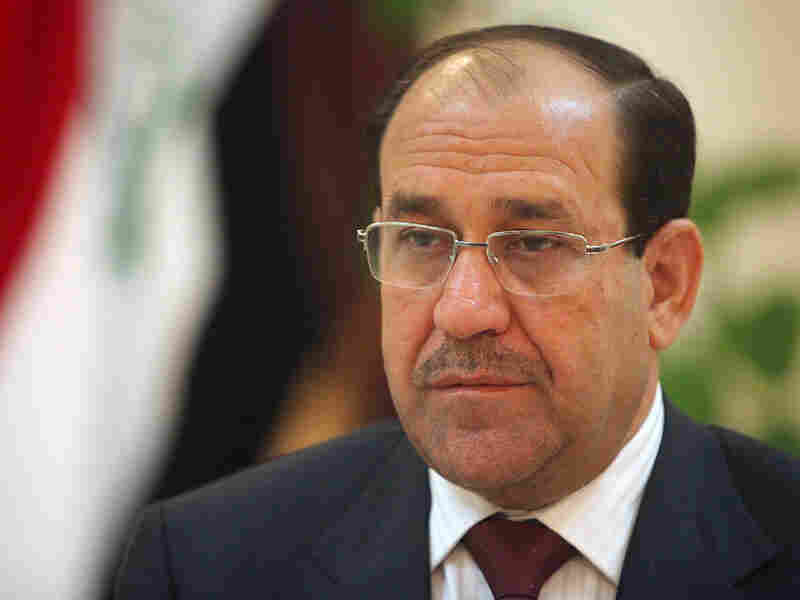 Prime Minister Nouri al-Maliki said he would not accept the results of Iraq's parliamentary election