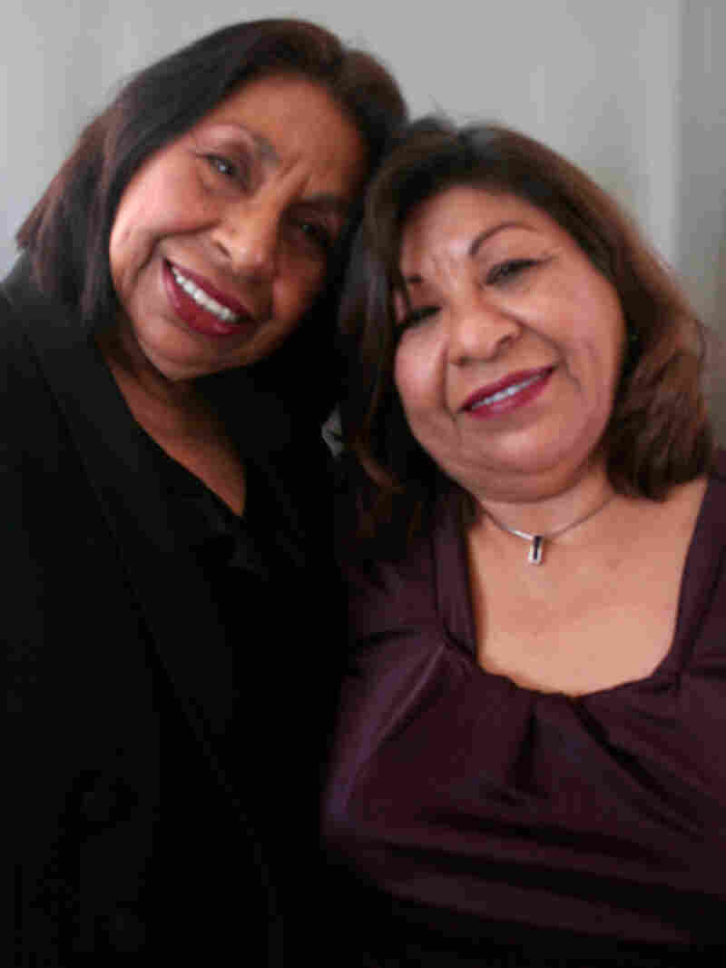 Sandra Mendez Duran with Sylvia Mendez