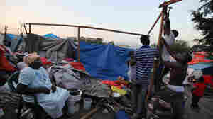 A Tent-City Economy Grows In Haiti