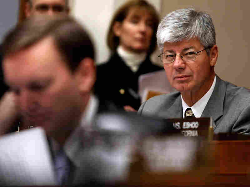Rep. Bart Stupak (D-MI) listens to testimony at a hearing
