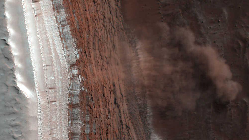 Martian Avalanche