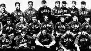 The 1913 Chicago Cubs