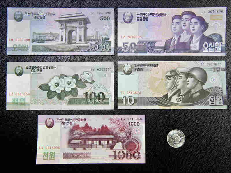 New North Korean currency