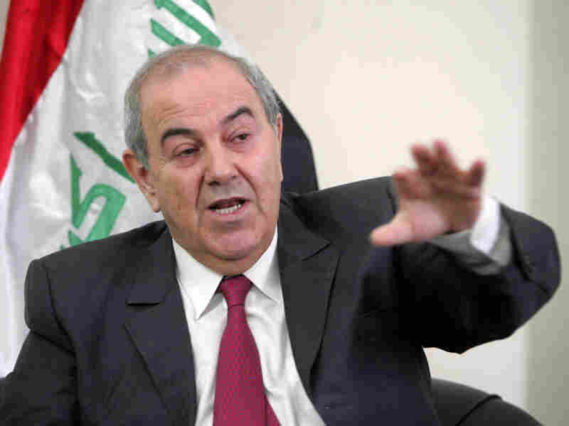 Former Iraqi Prime Minister Ayad Allawi