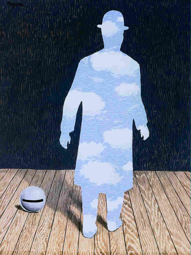 Magritte's painting, The Intimate Newspaper